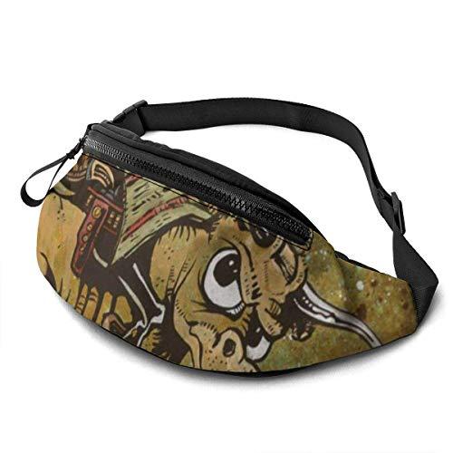 XCNGG Bolso de la Cintura del Ocio Bolso Que acampa Bolso del montañismo Waist Pack Bag for Men&Women, Cute Polar Bears Utility Hip Pack Bag with Adjustable Strap for Workout Traveling Casual Running