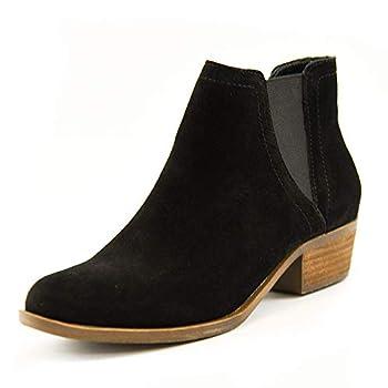 kensie Women s Garry Suede Short Fashion Casual Ankle Booties 6.5 Black