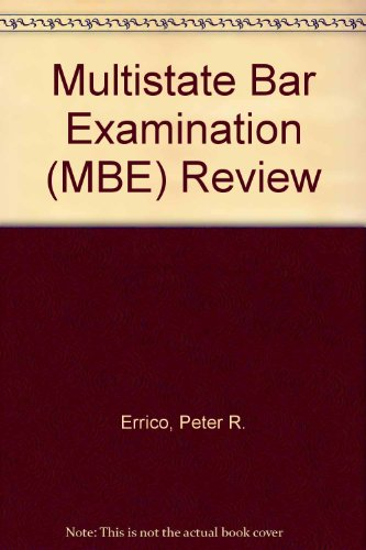 Multistate Bar Examination (MBE) Review