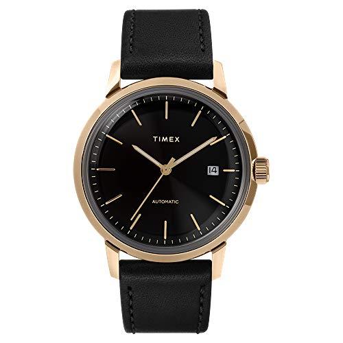 Orologio Timex Automatico Collezione Marlin Cassa Gold Oro Diametro 40 mm Da Uomo Garanzia Italia 2 Anni