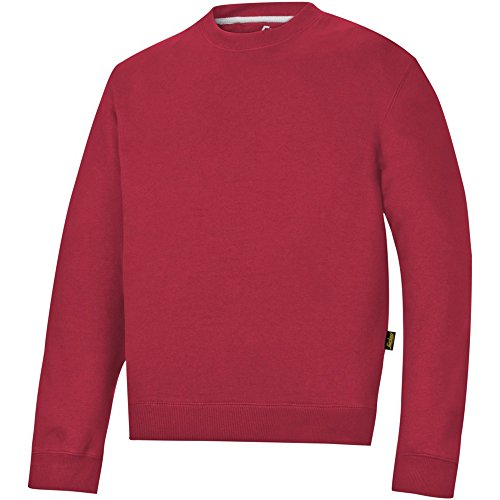 Snickers 28101600008 Sweat-shirt Taille XXL Rouge Chili