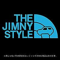 ジムニー 3代目JB23/JB33/JB43系ステッカー THE JIMNY STYLE【カッティングシート】パロディ(12色から選べます) (スカイブルー)