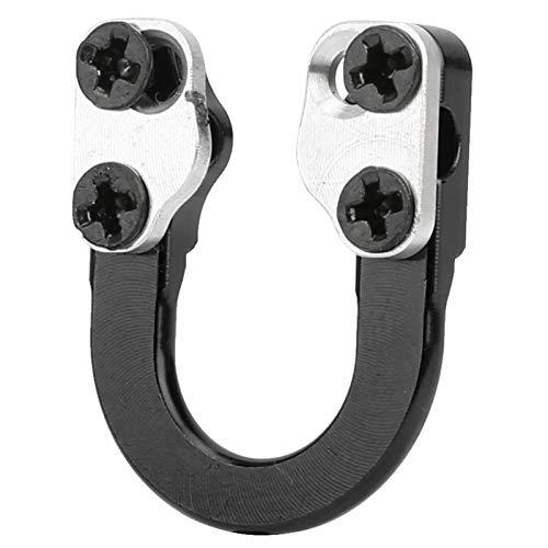 Alomejor Tiro con Arco D Loop D Ring Tiro con Arco Arco Compuesto D Loop con Destornillador para Tiro con Arco de Caza(Negro)