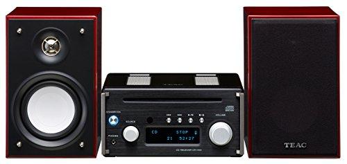 Teac HR-X101DAB-BC Mikro-CD/DAB-System (DAB/UKW-Tuner, Hi-Res Streaming, CD, Bluetooth, aptX, Zweiwege-Lautsprecher) schwarz