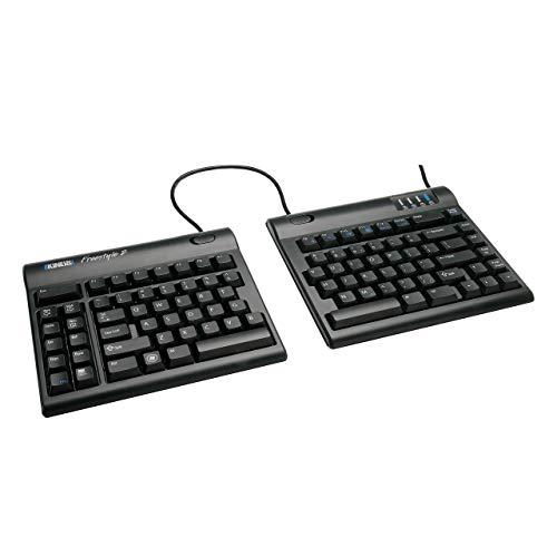Kinesis Freestyle2 Ergonomic Keyboard for PC (9' or 20' Separation) (9' Separation) (Renewed)