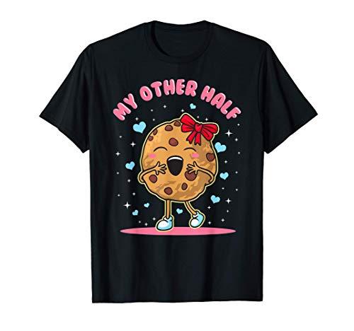 Parejas Leche y Galletas de citas Diseños Camiseta