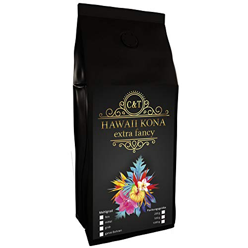 HAWAII KONA Das braune Gold aus Hawaii einer der besten Kaffees der Welt (200 Gramm, Ganze Bohnen)
