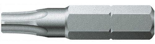 Wera 05066933001 Z - Brocas para tornillos Torx 867/2 TX (30 x 50 mm), color plateado