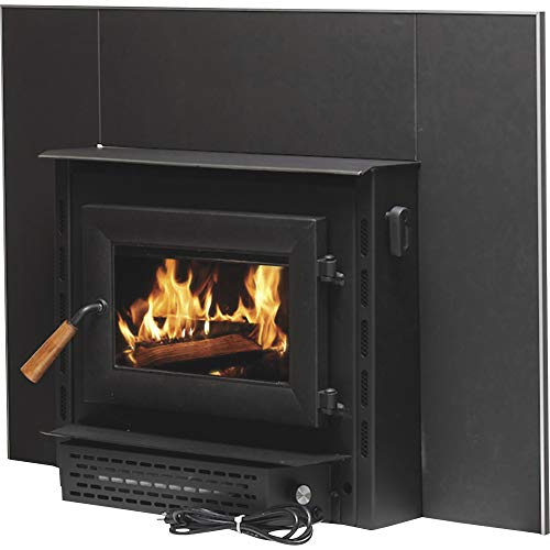 Vogelzang Plate Steel Wood Burning Insert with Blower - 69,000 BTU, EPA Certified, Model# VG1820E