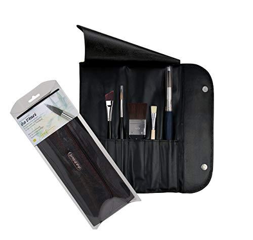 DA VINCI Serie 5271Agua Color Pinceles, Piel, Negro/Blanco, 30x 30x 30cm