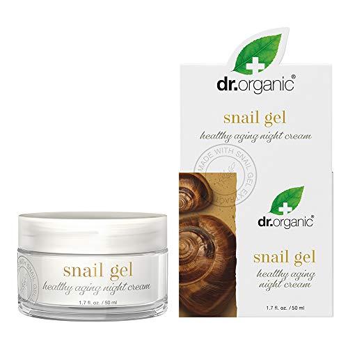 Dr.Organic Healthy Aging Night Cream with Organic Snail Gel Extract, 1.7 fl oz