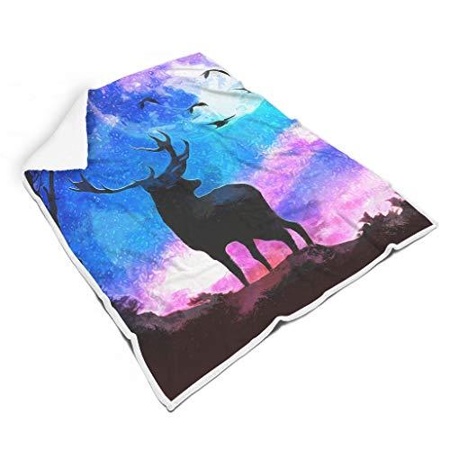 Animal Oil Painting Night mooie heldere kleuren zacht voor reizen microvezel voor baby of volwassenen prachtige stijl