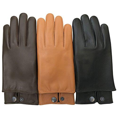 Schafsleder-Handschuhe mit dünnem Stil, zum Fahren, 084, 084, schwarz, M