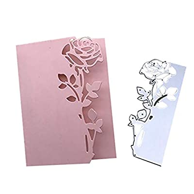 DIY Scrapbooking, Metal Flower Die Cutting Dies Stencil for DIY Scrapbooking Album Paper Card Decor Craft, Home Kitchen Bathroom Decor