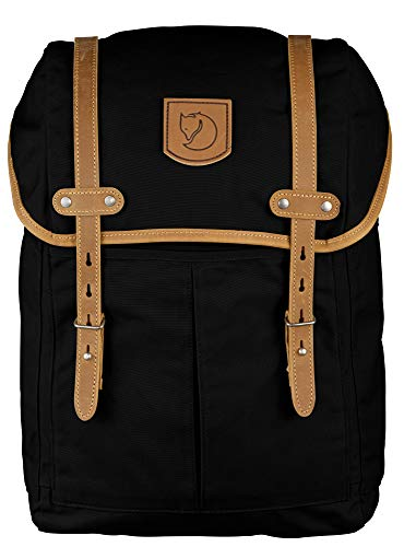Fjallraven, Rucksack No. 21 Medium Backpack, Fits 15' Laptops, Black