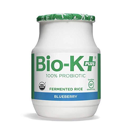 Bio-K Plus, Probiotic Fermented Rice Blueberry, 42 Fl Oz, 12 Pack