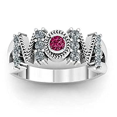 Amazon - Save 80%: UNBRUVO Mother's Day Ring Bridal Zircon Diamond Elegant Engagement We…
