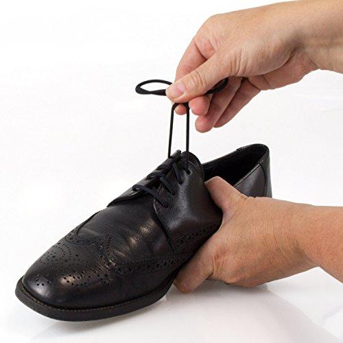 3 Paar | Elastische Schnürsenkel | Schnürbänder | schwarz