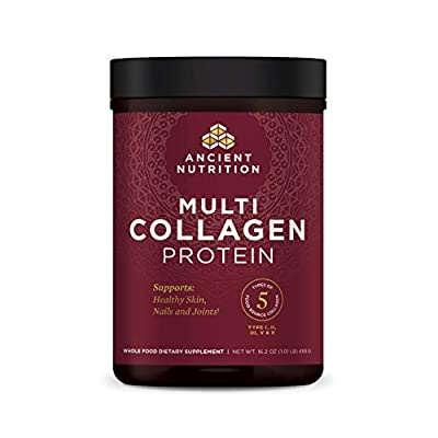 Ancient Nutrition Multi Collagen Protein Powder Unflavored 459 Grams from Ancient Nutrition