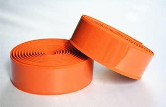 Daiky 1 Pair Orange Fixedgear Road Bike Bicycle Handlebar Steering Wheel Tape Handlebar Grip Wrap