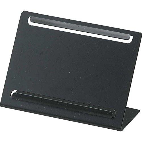 メタル カード立て【SP-300】ブラック[えいむ メニュースタンド カード立て 名刺立て プライス立て]