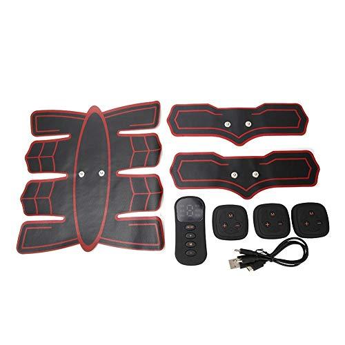 3-IN-1 Smart Bauchmuskeltrainer, kabelloser Bauchmuskeltrainer Bodybuilding Fitness Set Ergonomischer Trainer