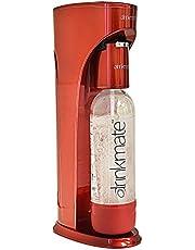 DrinkMate sodamaker voor koolzuurhoudende dranken en bruiswatertoestel, CO2 navulverpakking, mat zwart