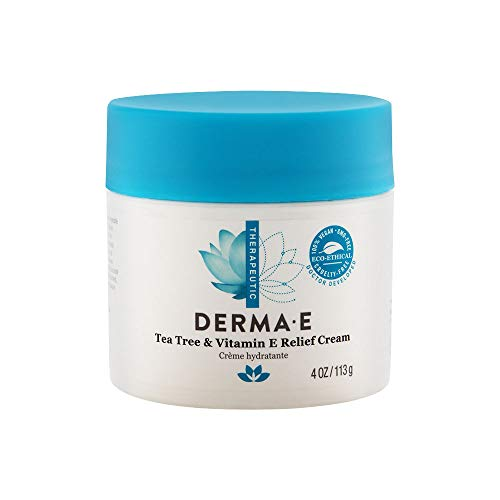 Derma E Tea Tree and Vitamin E Relief Cream, 4oz