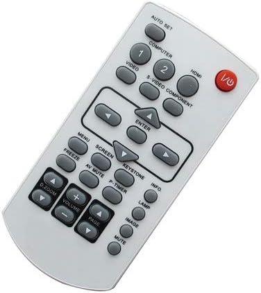 Easytry123 Remote Control for Panasonic PT-L759VU PT-AE100 PT-L759U PT-AE1000E PT-L6600E PT-AE100E PT-L758XU PT-AE1000U PT-L701U PT-AE4000U LCD Projector