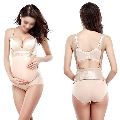 Angelay-Tian Vientre falso de silicona, accesorios de cosplay, barriga embarazada falsa suave, protuberancia artificial del embarazo (Size : 2XL)
