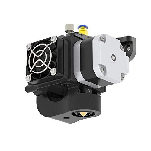 WY-YAN Zubehör, 3D-Drucker Teil 1.75mm 0.4mm Doppellüfter-Extruder mit 0,1 mm Genauigkeit/Übertemperaturschutz Drucker