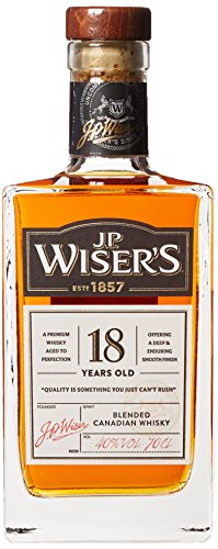 J.P. WISER'S 18 Jahre Canadian Whisky (1 x 0,7 l)