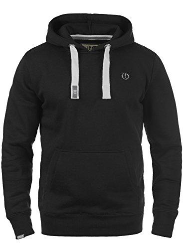 !Solid BennHood Herren Kapuzenpullover Hoodie Pullover mit Kapuze, Größe:L, Farbe:Black (9000)