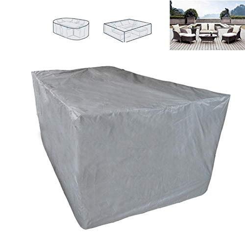 Chengstore Outdoor Furniture Cover Patio Cover, Outdoor Furniture Lounge Porch Sofa Protector Waterproof DustProof Protective Covers -Gray- (11.817.871.18in)