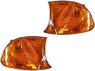 Corner Signal Light Lamp for E46 325Ci 330Ci M3 Amber Driver Passenger Pair Set