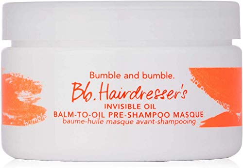 Bumble and Bumble Hairdresser's Invisible Oil Balm-to-oil Pre Shampoo Masque for Unisex Masque, 3 Ounce