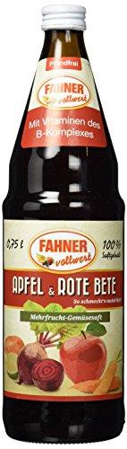 Fahner Saft Rote Bete, 6er Pack (6 x 750 ml)