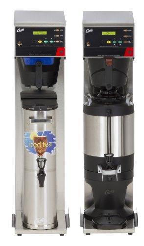 Wilbur Curtis G3 Combo Coffee Tea Brewer 3.5 Gallon Tea/1.5 Gallon Coffee, Single Tea And Coffee Brewer - Commercial Combo Coffee Tea Brewer - CBHS (Each)