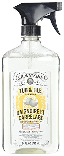 J R Watkins Tub & Tile Cleaner, Citrus 24 oz