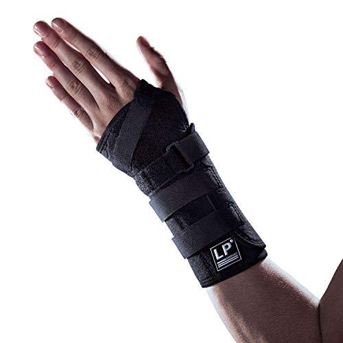 LP Support 725CA Handgelenk-Bandage - Handgelenkstütze - Sportbandage aus der Extreme Serie, Farbe:schwarz, Größe/Seite:S/Links