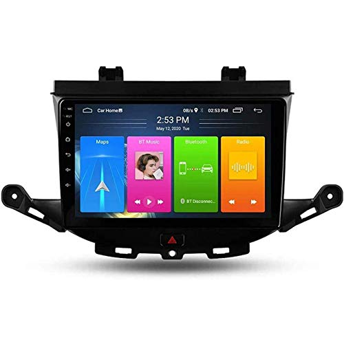 Android 9.0 Car Stereo Radio Double Din Compatible con Opel Astra K 2015-2019 Navegación GPS Reproductor multimedia MP5 con pantalla táctil de 9 pulgadas Receptor de video con 4G DSP Carplay, 4core 4