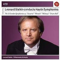 ロンドン交響曲集 レナード・スラトキン&フィルハーモニア管弦楽団(4CD)