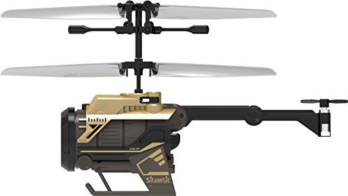 Silverlit Nano Spy Cam Video Helicopter, Gold/Black