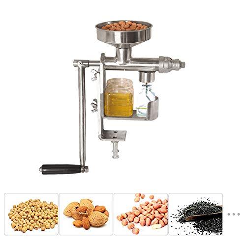Preisvergleich Produktbild HADMB Manuelle Ölpresse Maschine, 304 Edelstah Elektrische Ölpresse Home Automatische Ölpresse Maschine für alle Samen und Nüsse Oliven
