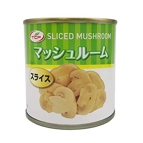 TCF マッシュルーム缶 スライス (184gx6缶) 缶詰 マッシュルーム 缶詰め