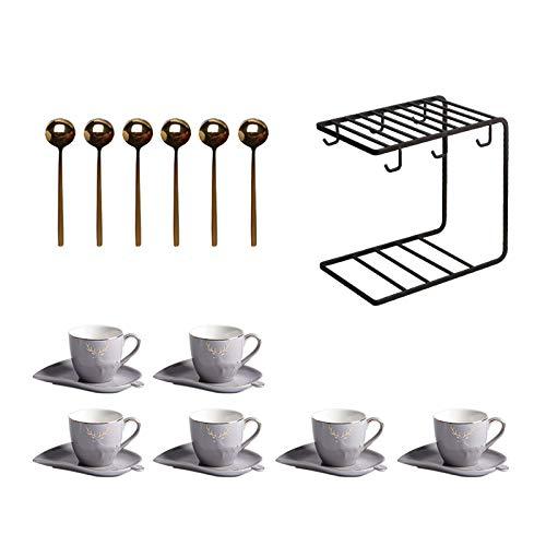 YZERTLH Tasse Porzellan Espressotassen...
