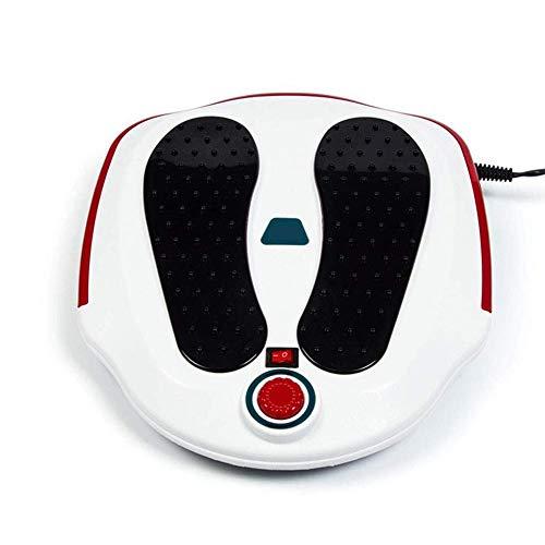 Un masaje eléctrica al pie de la circulación de la sangre en las piernas y el aparato de procesamiento de relajación máquina
