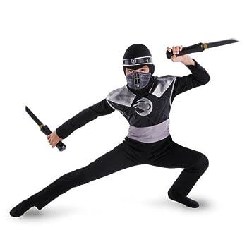 Disguise Dark Raven Ninja Classic Costume - Large  10-12