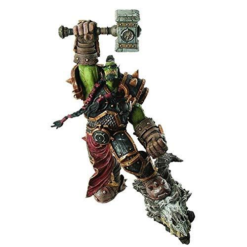 YIGEYI World of Warcraft: Serie Premium 2: Orco Guerra: Figura de acción de Thrall 10,2 Pulgadas de PVC Figuras de colección Modelo de Caracteres Estatua Juguetes