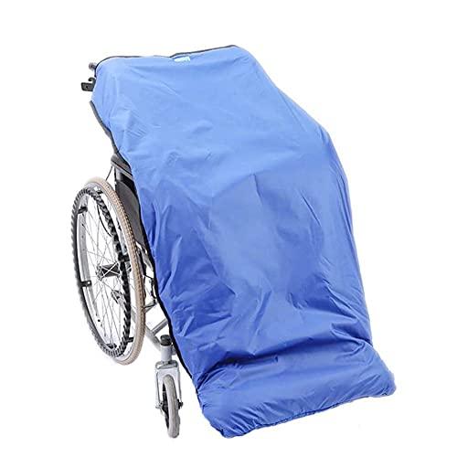FZYE Rollstuhlwärmer-Abdeckungsdecke, halbgewickelte Winddichte warme Decke, universelle Passform für manuelle und elektrisch betriebene Rollstühle